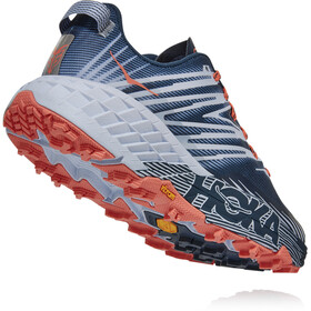 Hoka One One Speedgoat 4 Zapatillas Mujer, majolica blue/heather